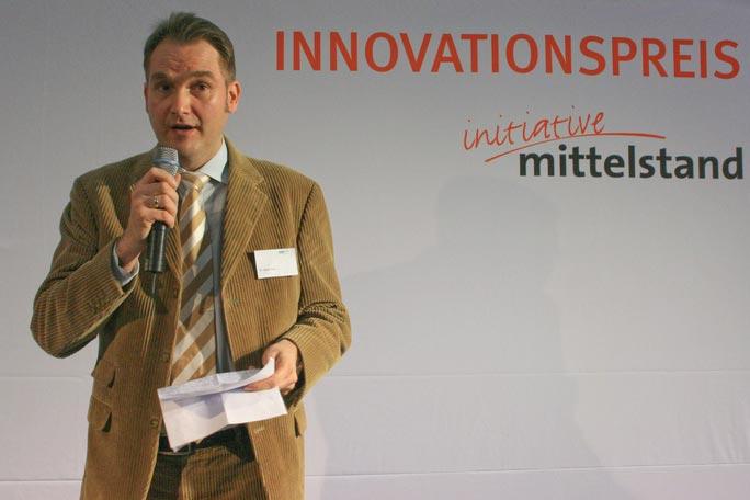 Keynote von Dr. Oliver Grün beim Innovationspreis 2008