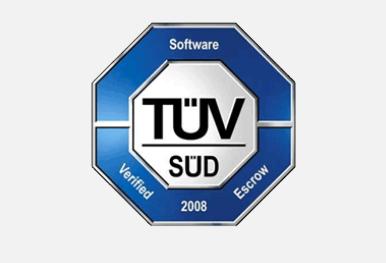 GRÜN Software ist TÜV Süd zertifiziert