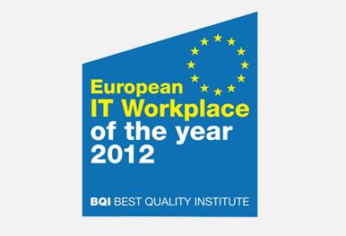 GRÜN gewinnt European IT Workplace Award of the Year 2012