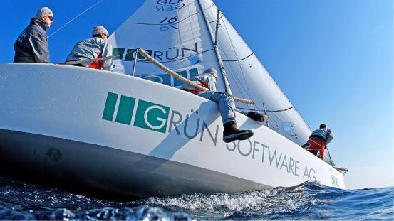 GRÜN Software AG engagiert sich im Segelsport