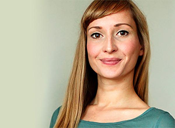 Katja Herold, Ingenieurin für Medientechnik und Bachelor in Business Administration.