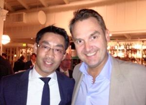 Oliver Grün mit Bundesminister Philipp Rösler aufDelegationsreiseim Silicon Valley und Washington D.C.