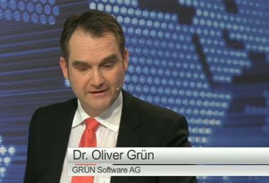 GRÜN im TV Studio Mittelstand