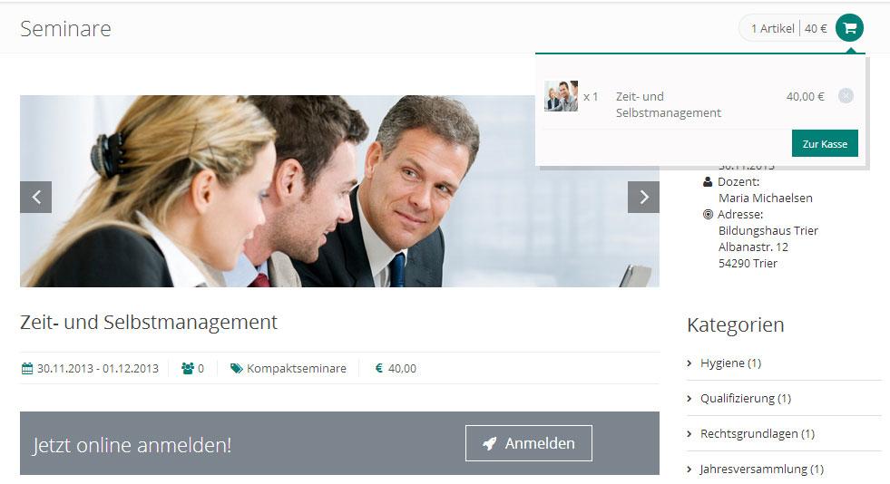 GRÜN eVEWA3 - Software für Bildungsanbieter