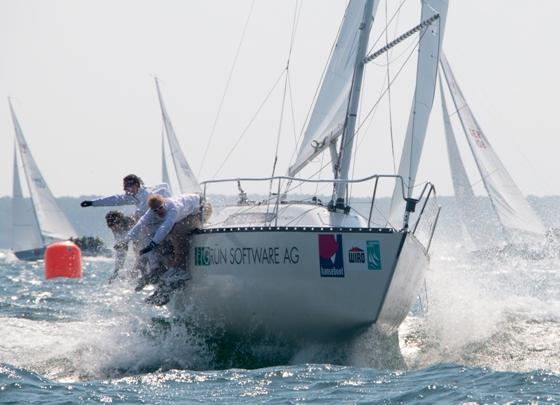 GRÜN weitet Segelsport-Engagement aus