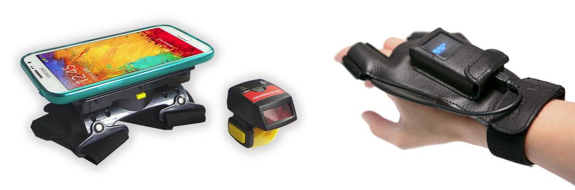 Handfrei Scanner-Serie GRÜN mLogiMore ohne Kabelverbindungen über Bluetooth