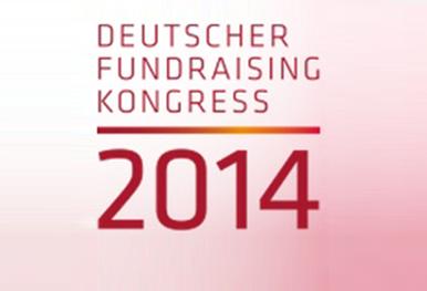 GRÜN Software AG beim Deutschen Fundraising Kongress 2014 in Berlin-Brandenburg