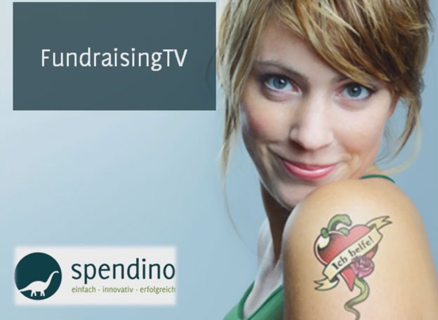 GRÜN spendino Fundraising TV