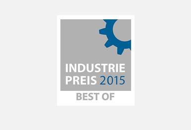 GRÜN ZICOM mit dem Best of Industriepreis 2015 ausgezeichnet.