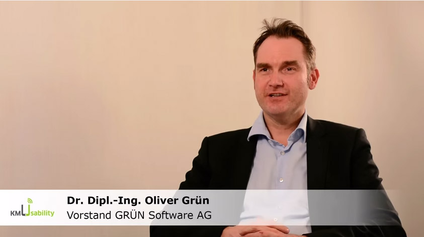 Interview mit Dr. Oliver Grün über KompUEterchen4KMU, dem Vorgehensmodell mobiler Software-Anwendungen.