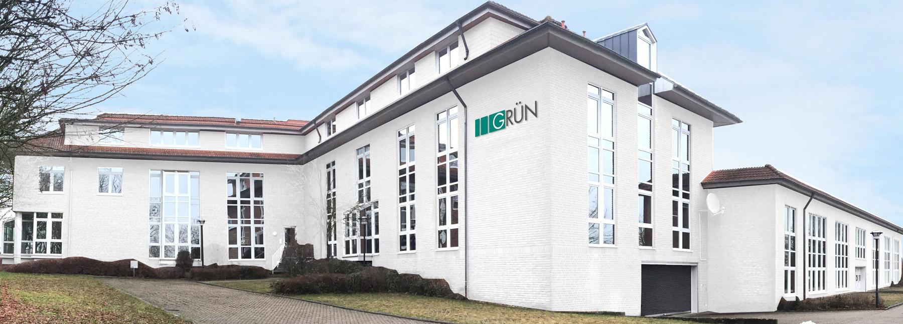 Animation des GRÜN Headquarter in Aachen nach Fertigstellung.