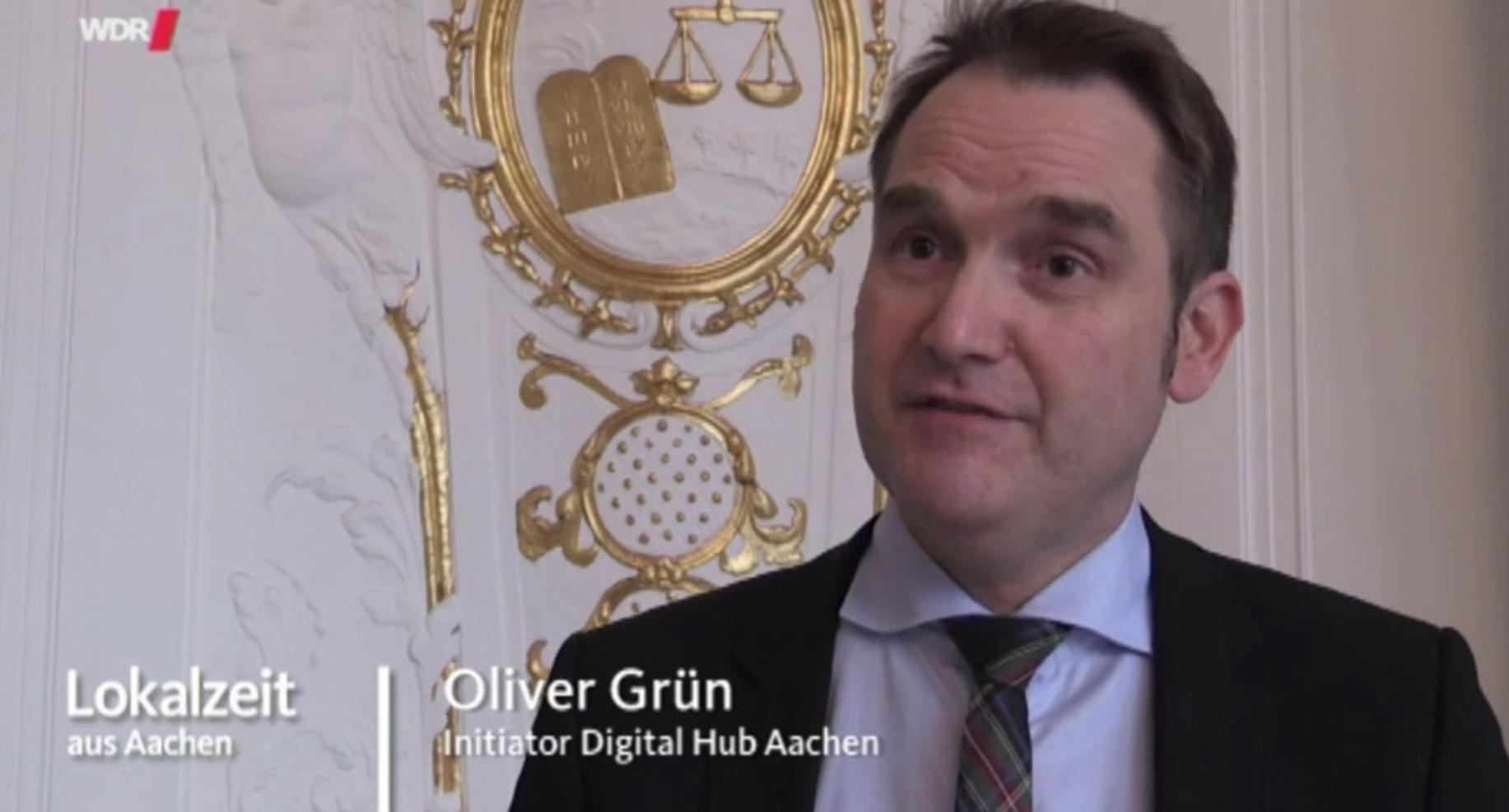 Der Digital Hub ist für die StädteRegion Aachen ein bedeutendes Wirtschaftsförderungsthema, das die GRÜN Software AG als Initiator tatkräftig unterstützt.