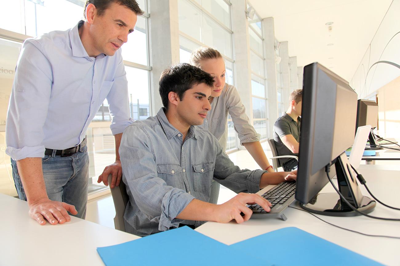 Duales Studium zum Mathematisch-technischen Softwareentwickler (MATSE) mit einem Bachelor of Science bei der GRÜN Software AG in Aachen.