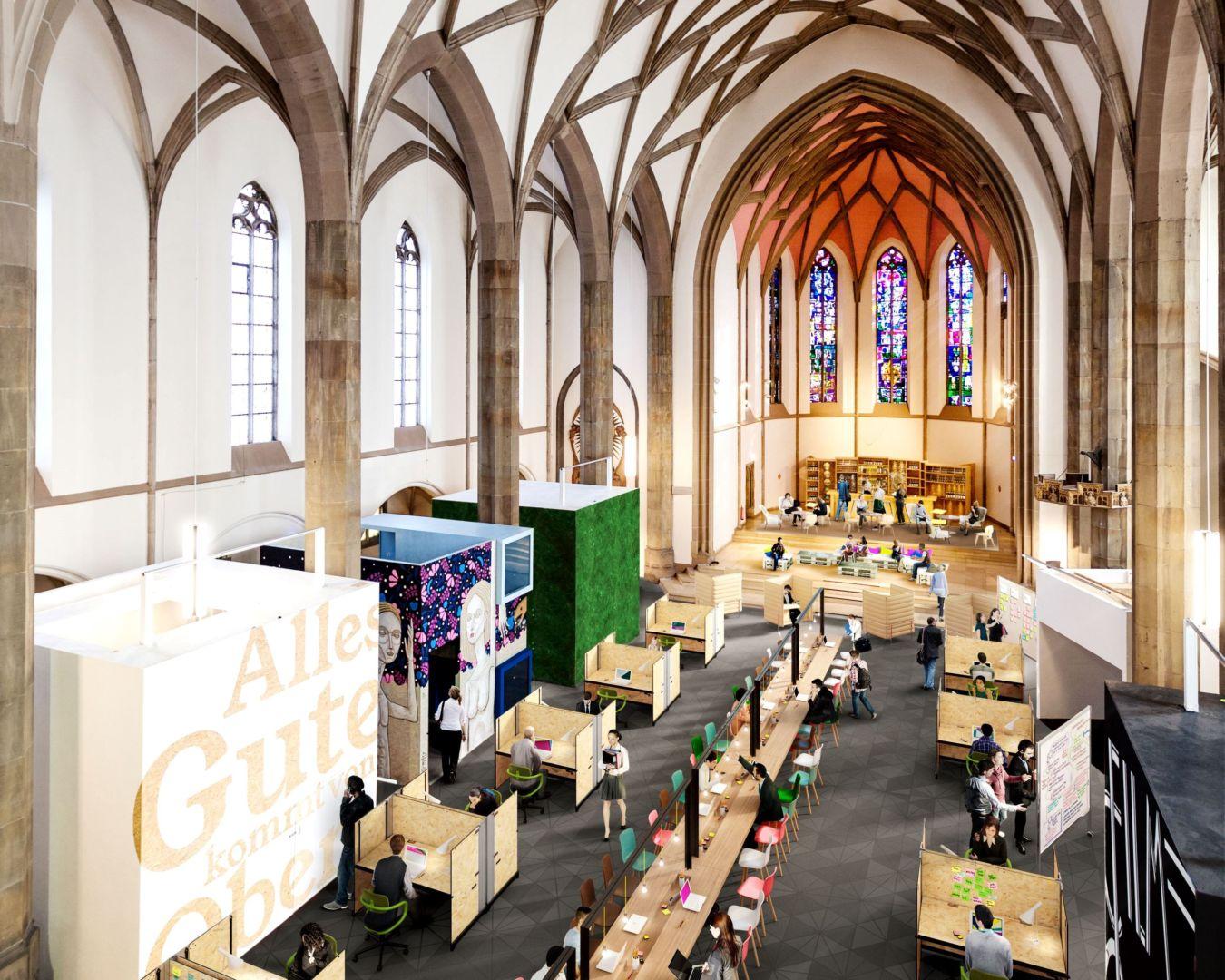 digitalHUB Aachen entwickelt DIGITAL CHURCH als Leuchtturm.