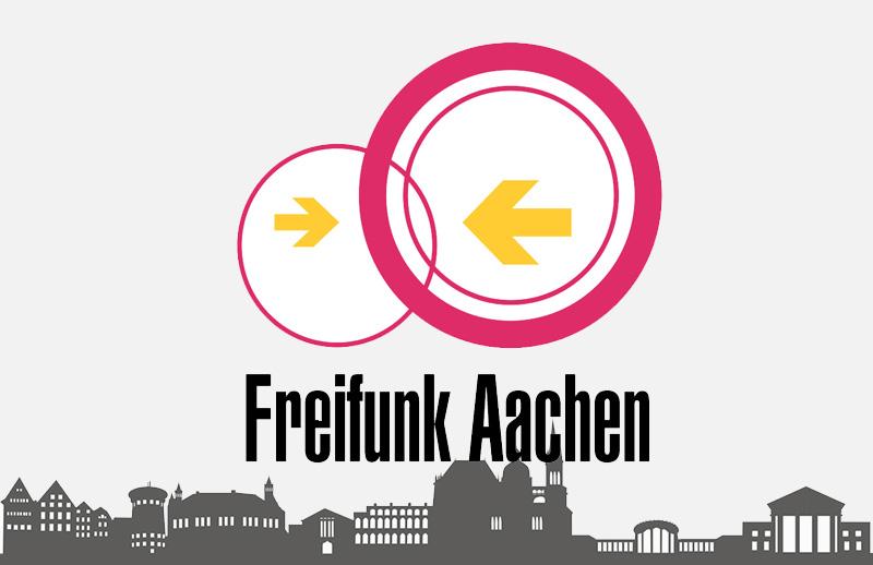 Freifunk Aachen bei der GRÜN Software AG in der Pascalstraße in Aachen.