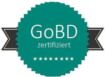 GRÜN VEWA 7ist GoBD zertifziert.