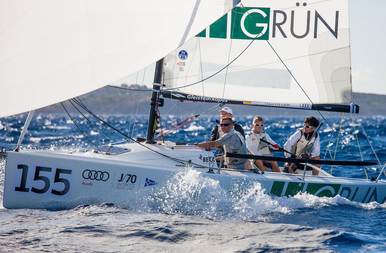 Das GRÜN Sailing Team wird auch 2018 wieder in See stechen und dabei von der GRÜN Software AG als Sponsor unterstützt.