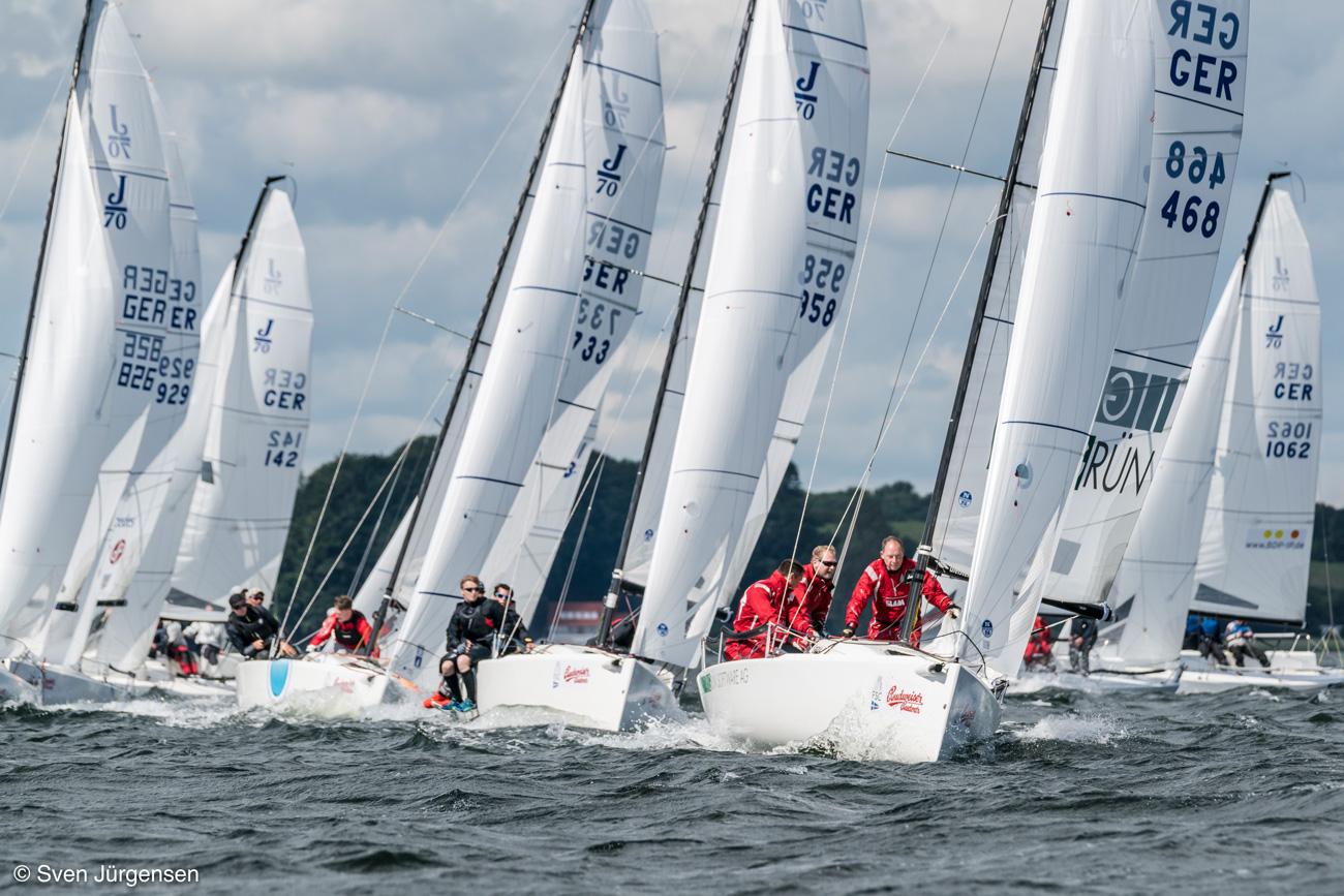Das GRÜN Sailing Team ist Deutscher Corinthian Meister. @Foto:Sven Jürgensen