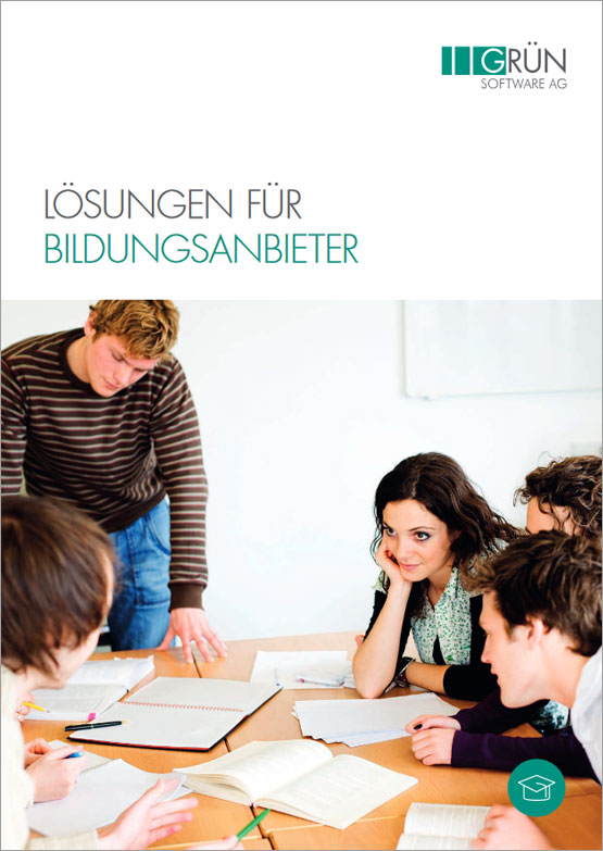 GRÜN Software AG - Lösungen für Bildungsanbieter - Katalog Titel