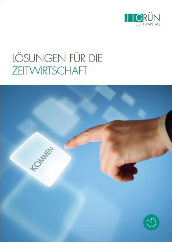 GRÜN Software AG - Lösungen für die Zeitwirtschaft - Katalog Titel