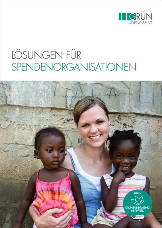 GRÜN Software AG - Lösungen für Spendenorganisationen - Katalog Titel