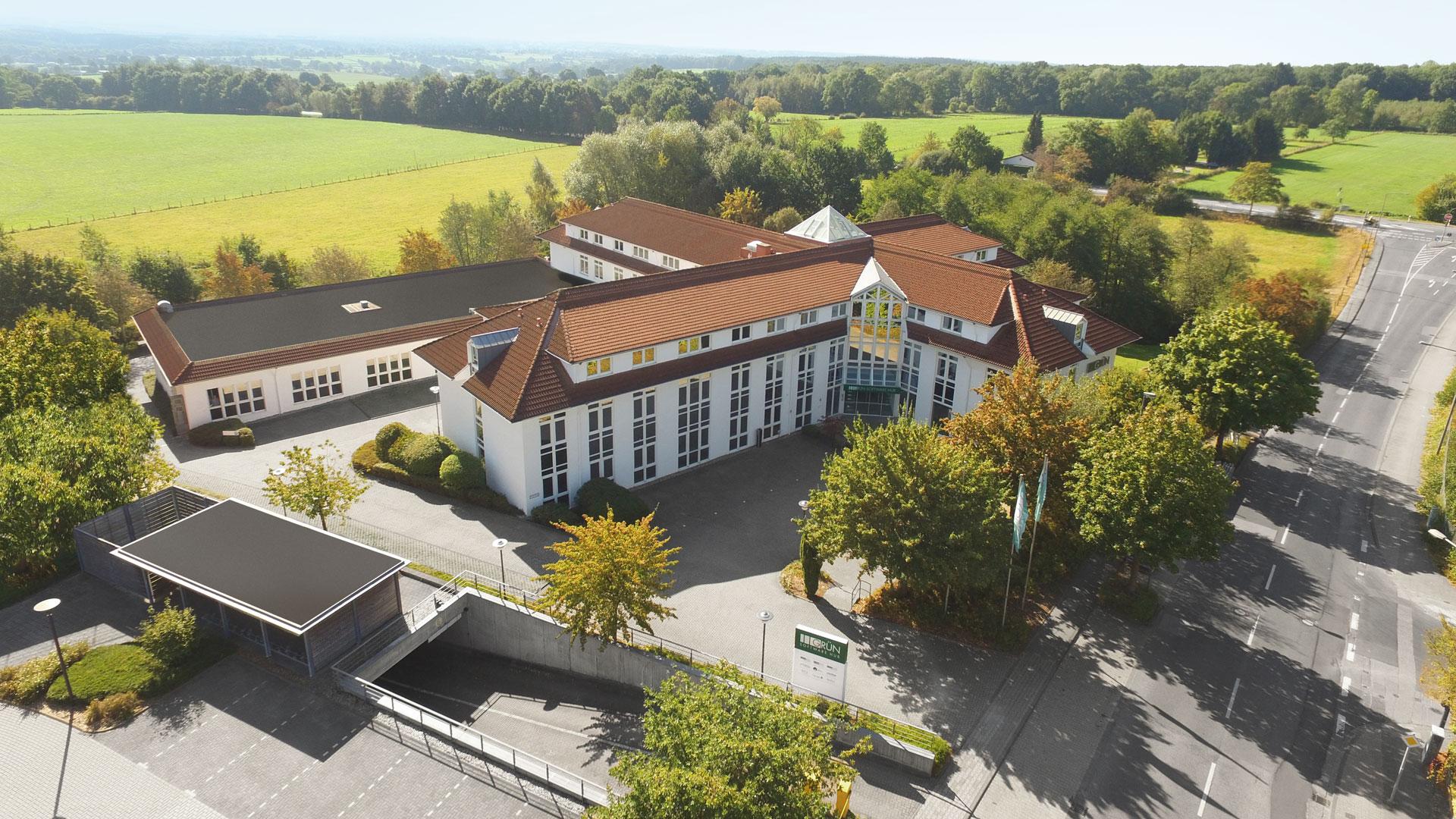 Headquarter GRÜN Software AG in Aachen.