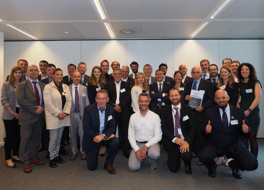 Teilnehmer der Generalversammlung in Brüssel