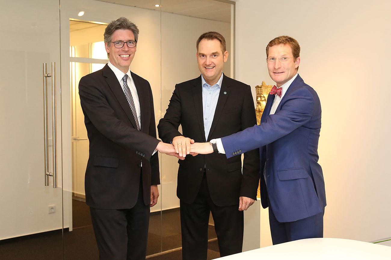 Einweihungsparty Headquarter der GRÜN Software AG