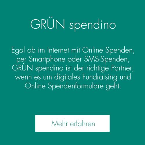GRÜN spendino